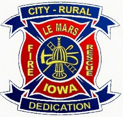City - Rural, Le Mars Fire Rescue, Iowa - Dedication