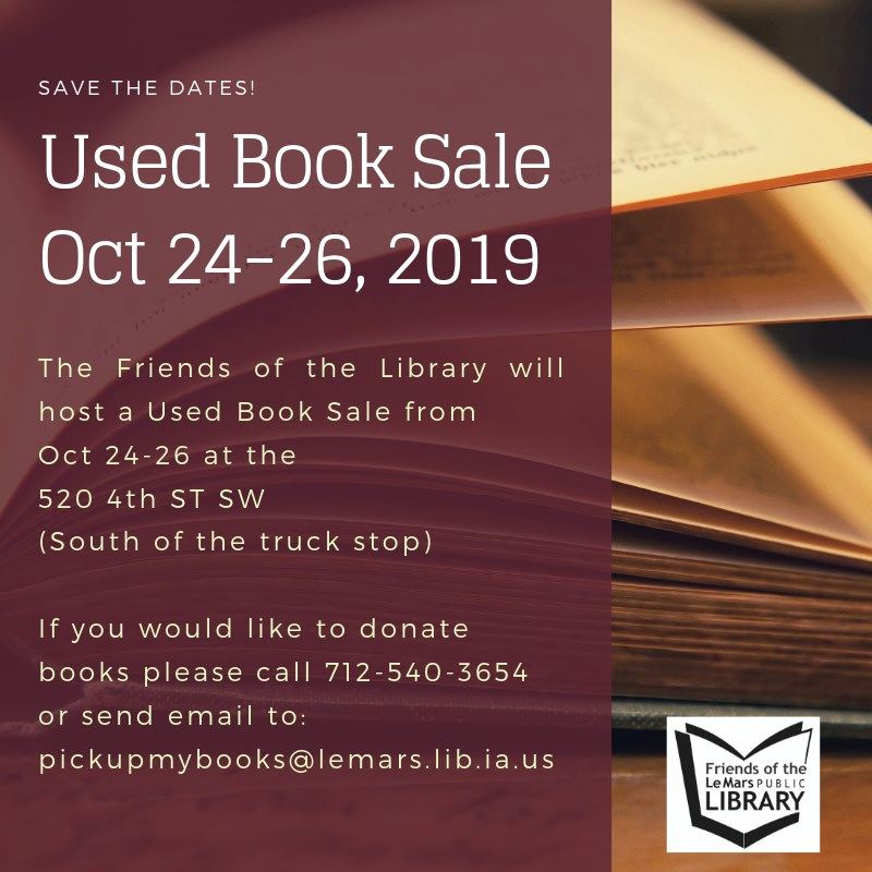 Library Used Book Sale