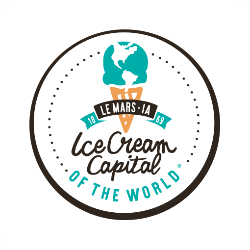 Le Mars Ice Cream Capital of The World Logo