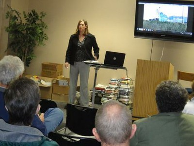 """Train to Nowhere"" Author presents about her book."