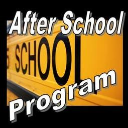 A graphic advertising the After School Program the Friends of the Library helped fund.
