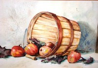 Apple Basket by Glenda Drennen