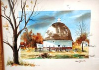 The Round Barn by Jane Schultz