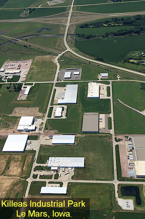 Killeas Industrial Park, Le Mars, Iowa